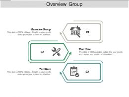 Overview Group Ppt Powerpoint Presentation Ideas Gallery Cpb