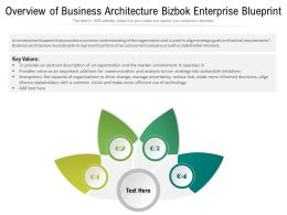 Overview Of Business Architecture Bizbok Enterprise Blueprint