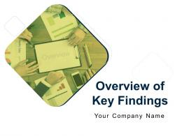 Overview Of Key Findings Powerpoint Presentation Slides