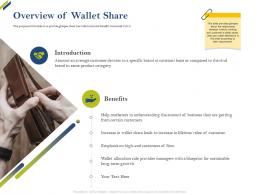 Overview Of Wallet Share Share Of Category Ppt Portrait