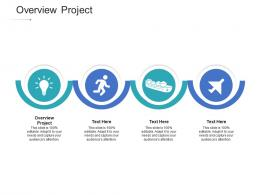 Overview Project Ppt Powerpoint Presentation Icon Skills Cpb