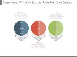 Overwhelmed With Work Example Powerpoint Slide Designs