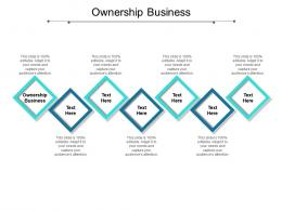 Ownership Business Ppt Powerpoint Presentation Model Show Cpb