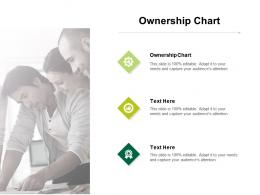 Ownership Chart Ppt Powerpoint Presentation Summary Format Ideas Cpb