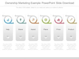 Ownership Marketing Example Powerpoint Slide Download