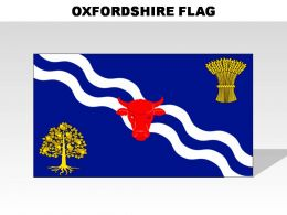 Oxfordshire Country Powerpoint Flags