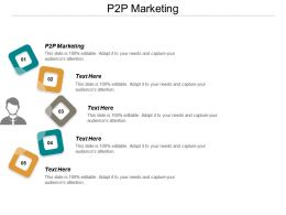 P2P Marketing Ppt Powerpoint Presentation Layouts Slide Cpb