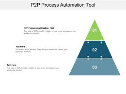P2p Process Automation Tool Ppt Powerpoint Presentation Gallery Templates Cpb