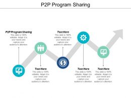 P2P Program Sharing Ppt Powerpoint Presentation Show Icon Cpb