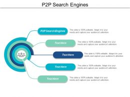 P2P Search Engines Ppt Powerpoint Presentation File Examples Cpb