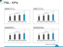 P And L Kpis Ppt Summary Layout Ideas