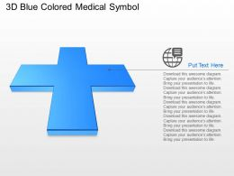 pa_3d_blue_colored_medical_symbol_powerpoint_template_Slide01