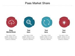 Paas Market Share Ppt Powerpoint Presentation Pictures Deck Cpb