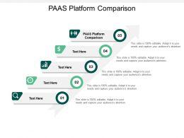 PAAS Platform Comparison Ppt Powerpoint Presentation Infographics Slides Cpb