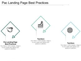 Pac Landing Page Best Practices Ppt Powerpoint Presentation Show Guide Cpb