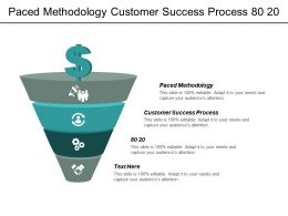 Paced Methodology Customer Success Process 80 20 Consumer Centered Cpb