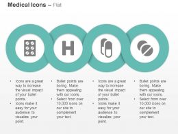 Package Health Pills Round Tablets Ppt Icons Graphics