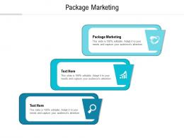 Package Marketing Ppt Powerpoint Presentation Professional Introduction Cpb