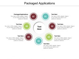 Packaged Applications Ppt Powerpoint Presentation Summary Smartart Cpb