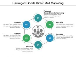 Packaged Goods Direct Mail Marketing Ppt Powerpoint Presentation Icon Master Slide Cpb