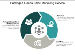 Packaged Goods Email Marketing Service Ppt Powerpoint Presentation Infographic Template Smartart Cpb