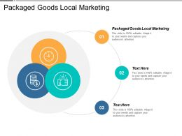 Packaged Goods Local Marketing Ppt Powerpoint Presentation File Sample Cpb