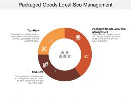 Packaged Goods Local Seo Management Ppt Powerpoint Presentation Gallery Graphics Cpb