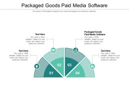 Packaged Goods Paid Media Software Ppt Powerpoint Presentation Inspiration Show Cpb