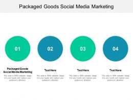 Packaged Goods Social Media Marketing Ppt Powerpoint Presentation Icon Template Cpb