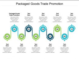 Packaged Goods Trade Promotion Ppt Powerpoint Presentation File Inspiration Cpb