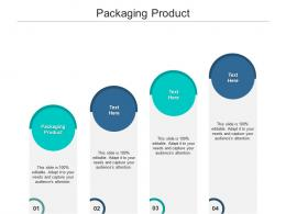Packaging Product Ppt Powerpoint Presentation Portfolio Tips Cpb
