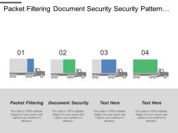 Packet Filtering Document Security Security Pattern Paper Documents