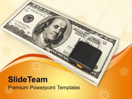 Padlock And Dollar Money Protection Future Powerpoint Templates Ppt Themes And Graphics 0113