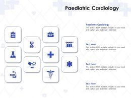 Paediatric Cardiology Ppt Powerpoint Presentation Gallery Slide Portrait