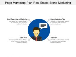 Page Marketing Plan Real Estate Brand Marketing Process Cpb