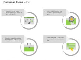 Page Speed Place Optimization Portfolio Ppc Ppt Icons Graphic