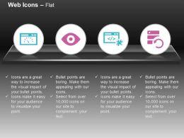 Page Speed Retina Ready Web Development Refresh Data Ppt Icons Graphics