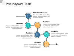 Paid Keyword Tools Ppt Powerpoint Presentation Infographics Mockup Cpb