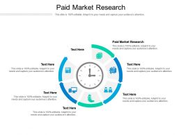 Paid Market Research Ppt Powerpoint Presentation Infographic Template Guide Cpb