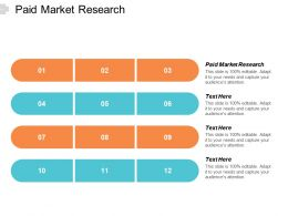 Paid Market Research Ppt Powerpoint Presentation Pictures Show Cpb