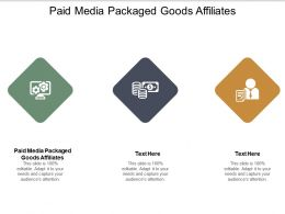 Paid Media Packaged Goods Affiliates Ppt Powerpoint Presentation Styles Model Cpb