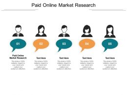 Paid Online Market Research Ppt Powerpoint Presentation Summary Ideas Cpb