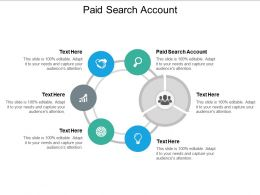 Paid Search Account Ppt Powerpoint Presentation Inspiration Guide Cpb