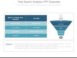 Paid Search Analytics Ppt Examples