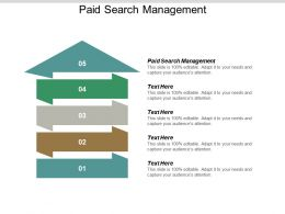 Paid Search Management Ppt Powerpoint Presentation Portfolio Information Cpb