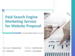 Paid SEM Service For Website Proposal Powerpoint Presentation Slides