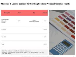 Painting Services Proposal Template Helps Commercial And Residential Painters Get Bids Out To Clients Quickly