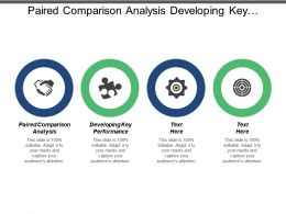 Paired Comparison Analysis Developing Key Performance Indicators Employees Management Cpb