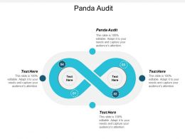 Panda Audit Ppt Powerpoint Presentation Gallery Influencers Cpb
