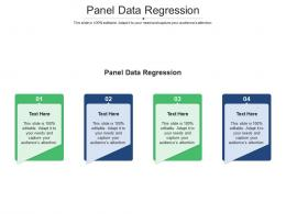 Panel Data Regression Ppt Powerpoint Presentation Icon Picture Cpb